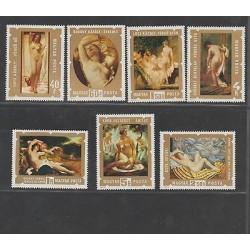 O) 1974 HUNGARY, NAKED, PAINTING, BROCKY -RENAISSANCE, SZEKELY- ROMANTICISMO ACA