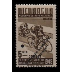 E) 1948 NICARAGUA, UNISSUED COLOR PROOF, ESSAY
