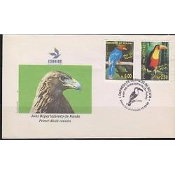 E) 2006 BOLIVIA,BIRDS, FDC