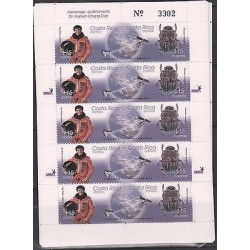 E)2003 COSTA RICA, TRIBUTE TO DR. ASTRONAUT FRANKLIN CHANG DIAZ, SPACE