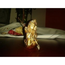 O) COLOMBIA, FISHERMAN, TUMBAGA DETAILS ABOUT COPPER AND GOLD ALLOY, COLUMBIAN