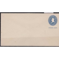 O) 1900 PUERTO RICO, US OCCUPATION IN PUERTO RICO, POSTAL STATIONARY N°14 - ULYS