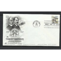 O) 1978 UNITED STATES, ORVILLE AND WILBUR WRIGHT AVIATION PIONEERS - AIRPLANE, F