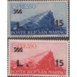E) 1947 SAN MARINO, EXPRESS L15
