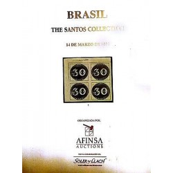 G) BRAZIL, THE SANTOS COLLECTION FULL COLOR, 300 PAGES