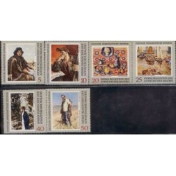 E) 1969 GERMANY, WORKS OF RUSSIAN AND SOVIET PAINTING, PICTURE GALLERY, MNH