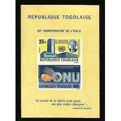 "B)1965 TOGO, ADLAI E. STEVENSON AND UN HEADQUATERS-APPLE, GRAPES, WHEAT AND """