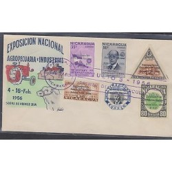 O) 1956 NICARAGUA, ROTARY CLUB, FOUNDER ROTARY CLUB 1905 PAUL HARRIS, PRESIDENT