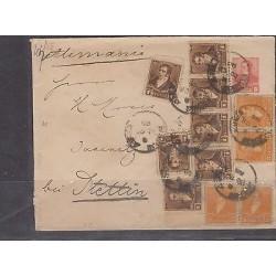 o) 1895 ARGENTINA, POSTAL STATIONARY MULTIPLE, PRESIDENT BERNARDINO RIVADAVIA, X