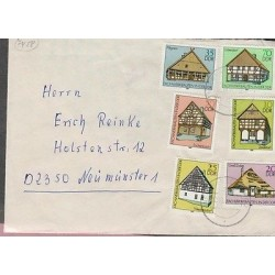 O) 1981 GERMANY - DDR, ARCHITECTURE, HALF TIMBERED BUILDINGS, COVER XF
