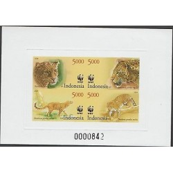 O) 2014 INDONESIA, PROOF, WWF, PANTHER - PARDUS MELAS, XF