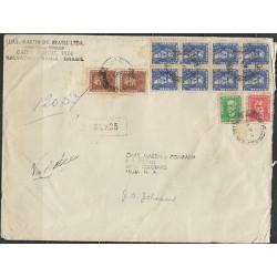 O) 1962 BRAZIL, DUKE OF CAXIAS, NATURISTA, STATESMAN AND POET JOSE BONIFACIO, C