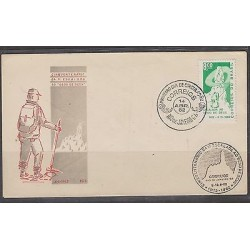 C) 1969 BRAZIL FDC, MOUNTAIN AND RAPEL XF
