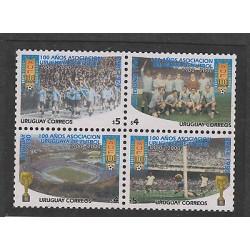 O) 2000 URUGUAY, OLYMPICS FOOTBALL, BRAZIL 1924-AMSTERDAM 1928-URUGUAY 1930-BRAZ