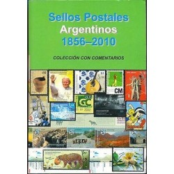 rT) ARGENTINA CATALOGUE 1856-2010, DANIEL HUGO MELLO TEGGIA, FULL COLOR, 535 PAG