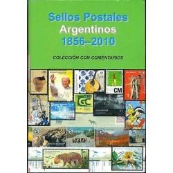 rT) ARGENTINA CATALOGUE 1856-2010, DANIEL HUGO MELLO TEGGIA, FULL COLOR, 535 PAG