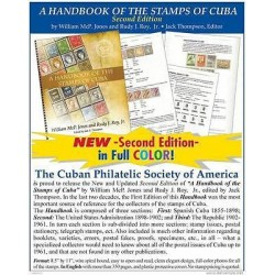 rM) CATALOGUE, HANDBOOK OF STAMPS OF CARIBE, BY WILLIAM MCP. JONES AND RUDY J.RO