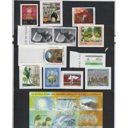 O) 2012 ITALY, NICE LOTE, PAINTINGS, SCOUTS, TREE, NUDE, MNH