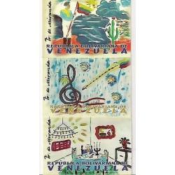 E) 2009 VENEZUELA, THE CHILDREN AND MIRANDA. POSTCARD SET