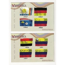 E) 2009 VENEZUELA, HISTORICAL DEVELOPMENT OF NATIONAL SYMBOLS