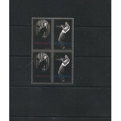 O) 2012 UNITED STATES-USA,JOINT ISSUE WIHT FRANCE,FRENCH SINGER EDITH PIAF,TRUMP