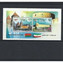 O) 2011 MIDDLE EAST, CASTLES- ARCHITECTURE, JOINT ISSUE WITH BELARUS, SOUVENIR M