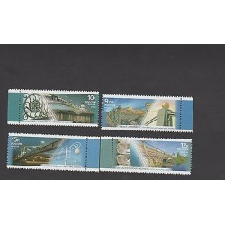 o) 2011 RUSSIA, BRIDGES, SET MNH