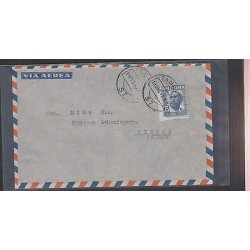 O) 1949 MOROCCO, MAROKKANER, SINGLE USAGE, TO SWITZERLAND, XF