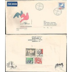 E) 1983 CZECHOSLOVAKIA, DOVE, PRAHA, J-DIMITRO V, FDC