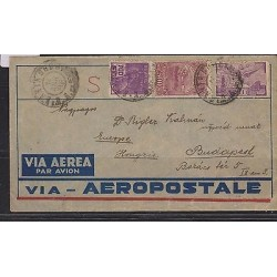 E) 1938 BRAZIL, LATI TO GERMANY XF, CIRCULATED COVER