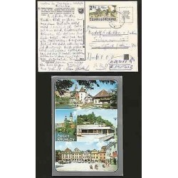 G)1981 CZECHOSLOVAQUIA, BICYCLES 1870 2K OF 1979, CIRCULATED POSTAL CARD TO GERM