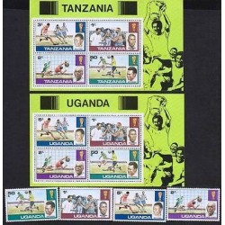 E) 1990 TANZANIA, UGANDA, FOOTBALL PLAYERS, WORLD CUP HISTORY