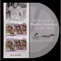 "E)2014 COSTA RICA, 50 YEARS SPIN CYCLING, JOSE LUIS ""EL NEGRO"" SANCHEZ, SOUVENIR"