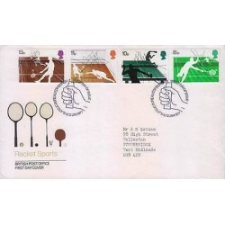 E) 1977 UNITED STATES, RACKET SPORTS, FDC