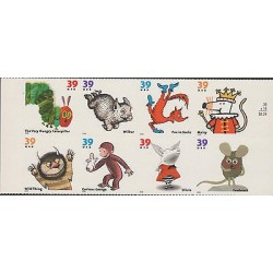 O) 2006 UNITED STATES, ANIMAL STORIES-CARTOON, STICKERS-ADHESIVES XF