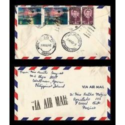 E)1963 PHILIPPINES, SUNSET MANILA BAY, JOSE BURGOS