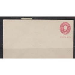 O) 1900 PUERTO RICO, US OCCUPATION IN PUERTO RICO, POSTAL STATIONARY U 3, 2 CENT