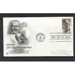 o) 1978 UNITED STATES-USA, DOCTOR GEORGE PAPANICOLAOU-SMEAR TEST DEVELOPMENT- M