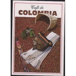 E) 2014, COLOMBIA, POSTCARD COFFEE