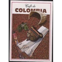 E) 2014, COLOMBIA, POSTCARD COFFEE