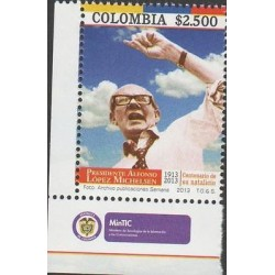 o) 2014 COLOMBIA, PRESIDENT 1974 TO 1978 ALFONSO LOPEZ MICHELSEN, LAWYER, COLUM
