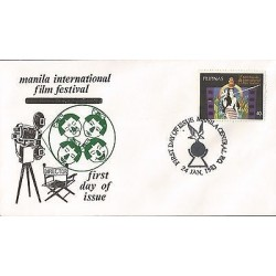 E)1983 PHILIPPINES, MANILA INTERNATIONAL FILM FESTIVAL, FDC