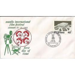 E)1982 PHILIPPINES, MANILA INTERNATIONAL FILM FESTIVAL, MANILA FILM CENTER,
