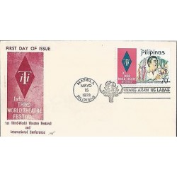 E)1973 PHILIPPINES, 1ST THIRD WORLD TEATHRE FESTIVAL AND INTERNATIONAL