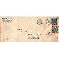 E)1941 GUATEMALA, COUNTRY OF ETERNAL SPRING, BARRIOS-QUETZAL, CIRCULATED