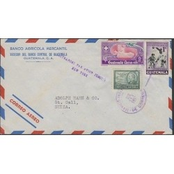 O) 1950 GUATEMALA, RED CROSS 5 CTS,VI SPORTS GAMES AMERICAN AND CARIBBEAN CENTER
