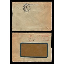 E)1947 CZECHOSLOVAKIA, TELEGRAM, RARE DESTINATION, CIRCULATED COVER TO MEXICO