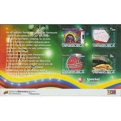 O) 2006 VENEZUELA, CHRISTMAS, TYPICAL FOOD, SOUVENIR MNH