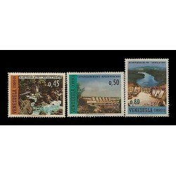 E)1968 VENEZUELA, COUNTRY'S ELECTRICITY, DAM, WATER, LIGHT, MNH