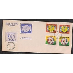O) 1981 EL SALVADOR, HEX BALOMPIE TOWARD SPAIN 1982 - FOOTBALL, FDC